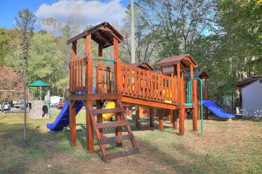 Playground at Greenbrier Campground