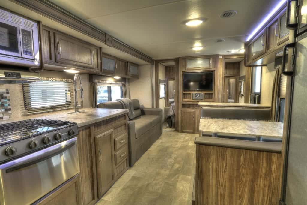 inside an rv