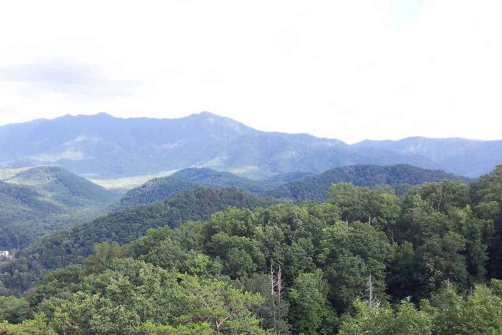green smoky mountains