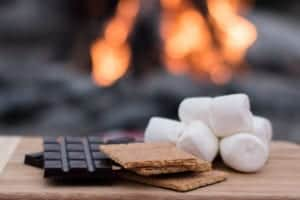 ingredients for smores